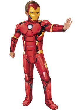 Boys Deluxe Iron Man Avengers Core Costume