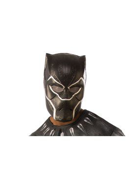 Avengers: Endgame Adult Black Panther 1/2 Injection Mask