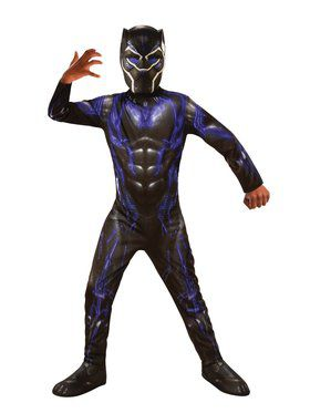 Avengers: Endgame Black Panther Purple Battle Child Costume