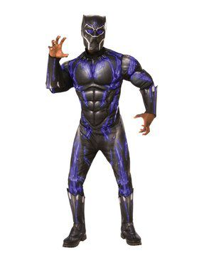 Avengers: Endgame Black Panther Purple Battle Deluxe Adult Costume