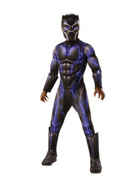 Avengers: Endgame Black Panther Purple Battle Deluxe Child Costume
