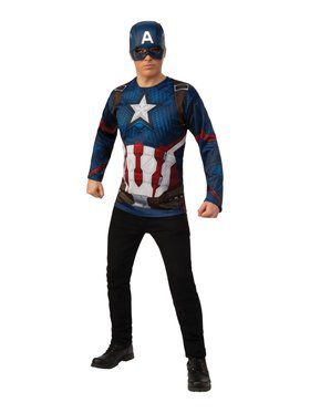 Avengers: Endgame Captain America Adult Costume Top