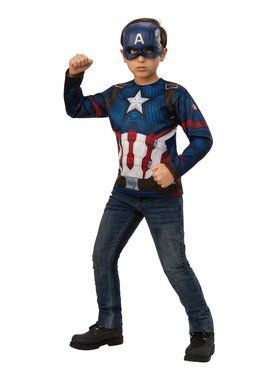 Avengers: Endgame Captain America Child Costume Top
