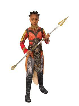 Avengers: Endgame Dora Milaje Okoye Gold Child Costume