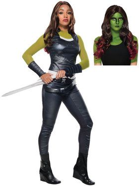 Avengers Endgame Gamora Adult Costume Kit