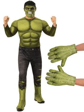 Avengers Endgame Hulk Adult Costume Kit
