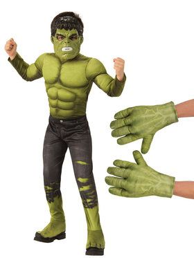 Avengers Endgame Hulk Child Costume Kit