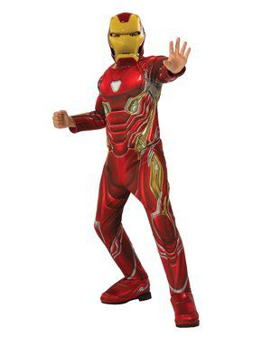Avengers: Endgame Iron Man Mark 50 Deluxe Child Costume
