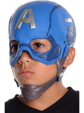 Avengers: Endgame Kids Captain America 3/4 Mask