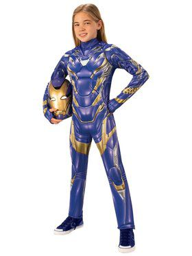 Avengers: Endgame New Girls Deluxe Armored Child Costume