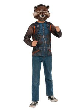 Avengers: Endgame Rocket Raccoon Child Costume Top