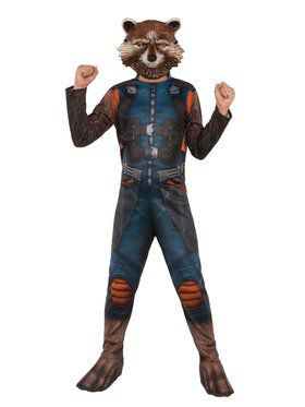 Avengers: Endgame Rocket Raccoon Child Costume