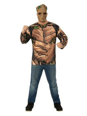 Avengers Endgame Teen Groot Adult Costume Top