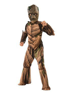 Avengers Endgame Teen Groot Child Deluxe Costume