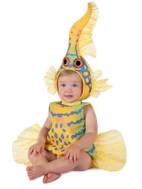 Anne Geddes Yellow Gobi Fish Baby Costume