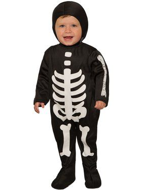 Toddler Skeleton Bones Costume