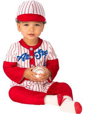 Baseball Player Baby Costume