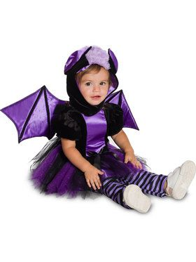 Purple Baby Bat Swaddle Costume
