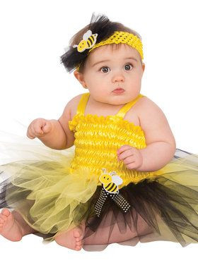 Baby Bumble Bee Tutu Costume