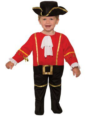 Toddler Captain Cutie Costume