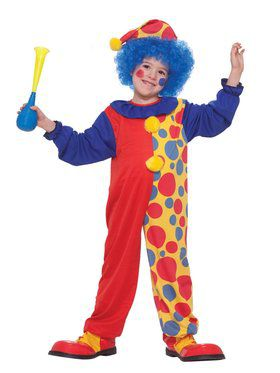 Child Classic Clown Costume