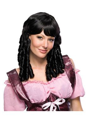 Black Baby Doll Wig for Women