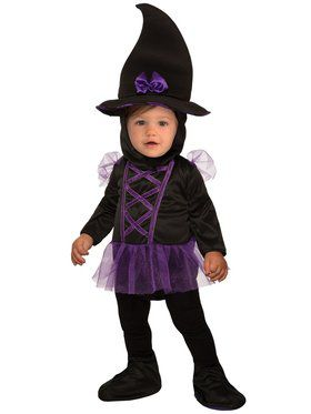 Toddler Kiddie Witch Costume