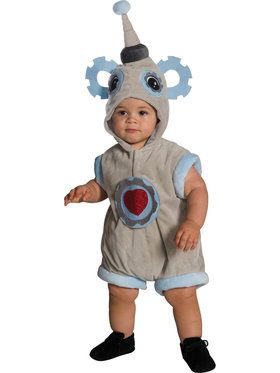 Little Baby Beep Bop Robot Costume