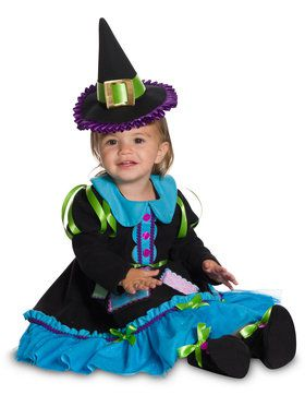 Patchwork Sewing Witch Costume