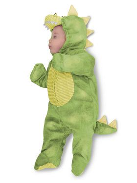Toddler Sleepy Green Dino Costume
