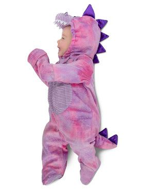 Toddler Sleepy Pink Dino Costume