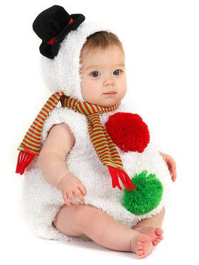 Baby Snowman Infant / Toddler Costume 6/12 Months