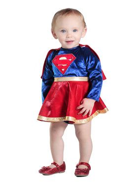 Infant Supergirl Costume Set