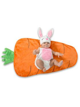 Baby Bunny Swaddle Wings Costume