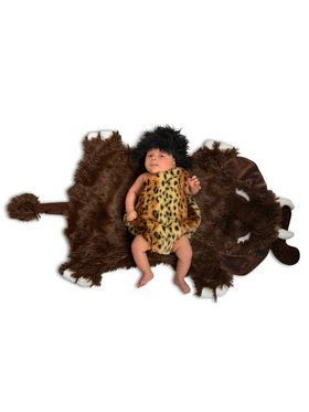Baby Caveman Swaddle Wings Costume