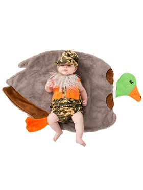 Baby Duck Hunter Swaddle Wings Costume