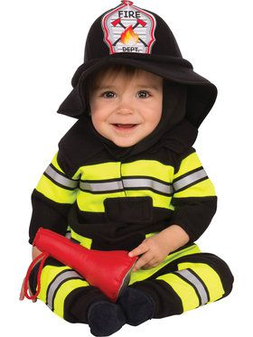 Fireman Toddler Costume
