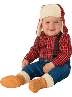 Lumberjack Toddler Costume