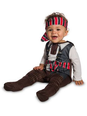 Toddler Tiny Pirate Booty Costume