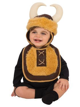 Viking Baby Bib And Hat Costume Set