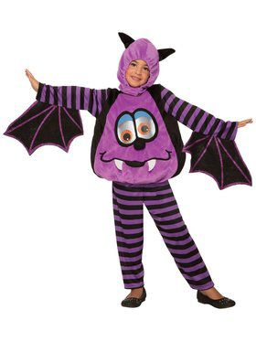 Baby Wiggle Eyes-Bat Costume