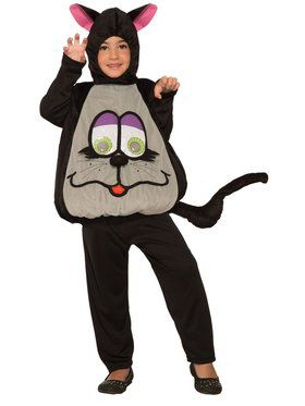 Kid's Wiggle Eyes Cat Costume