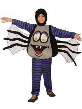 Kid's Wiggle Eyes Spider Costume