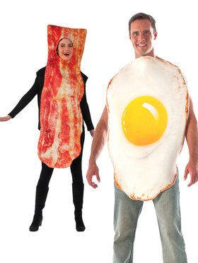 eggs and bacon costume kit