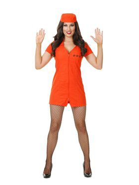 Bad Girl Dept Of Correction Adult Costume
