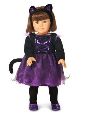 "Ballerina Kitty 18"" Doll Costume One-Size"