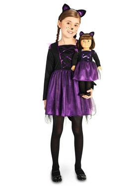Ballerina Kitty Child Costume with Matching Doll Costume  sc 1 st  BuyCostumes.com & Kids Cat Costumes - Kids Halloween Costumes | BuyCostumes.com