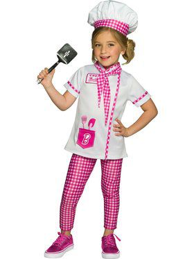 Barbie Chef/Baker Child Costume