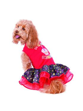 Barkday Tutu Dress Costume for Pet