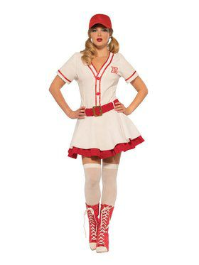 Baseball Sweetie Adult Costume